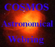 To the COSMOS Astronomical Webring Home Page